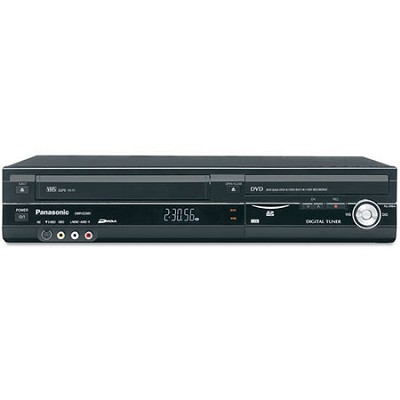 DVD Recorder with Digital Tuner with VCR