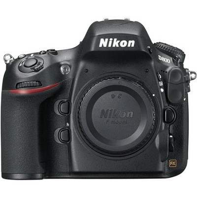 D800 36.3 MP CMOS FX-Format Digital SLR Camera (Body Only)