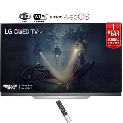 65` E7 OLED 4K HDR Smart TV (2017) + 1 Year Extended Warranty - Refurbished