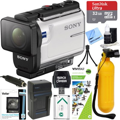HDR-AS300 Action Cam + Outdoor Action Kit & Memory Bundle