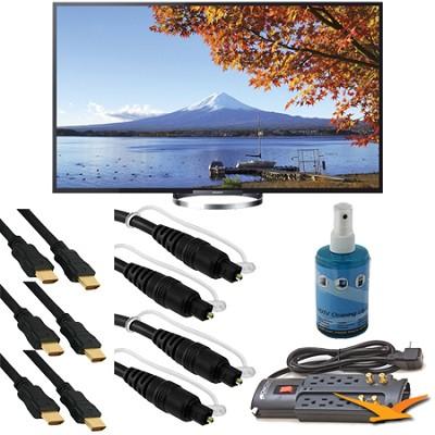 KDL65W850A 65-Inch Bravia LCD HDTV Bundle