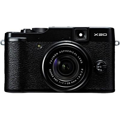 X20 12MP Digital Camera - Black - OPEN BOX
