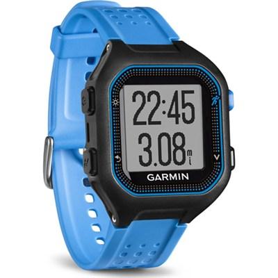 Forerunner 25 GPS Fitness Watch - Large - Black/Blue