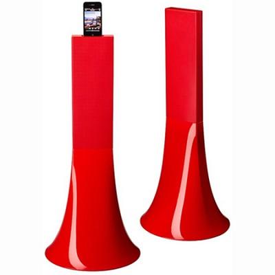 Zikmu Wireless Hi-Fi Speakers by Philippe Starck (Red) PF550531