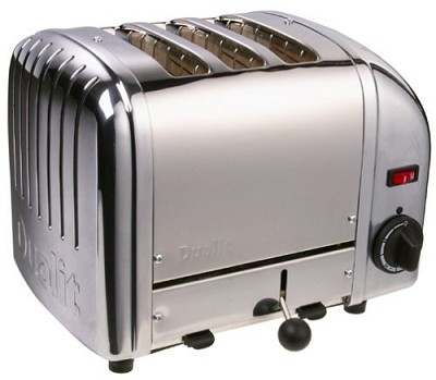 3 Slice Bread Toaster 30130 - Chrome