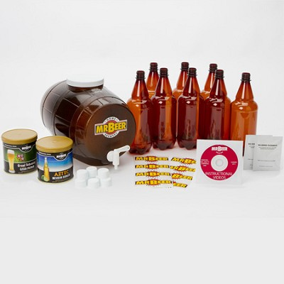 HOME BREWING SYSTEM PREMIUM GOLD BEER KIT - OPEN BOX