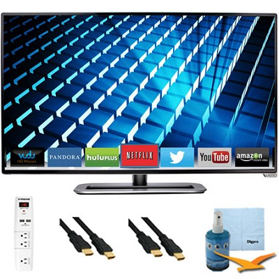 M322i-B1 - 32-inch Ultra-Slim LED 1080p 120Hz Smart HDTV Plus Hook-Up Bundle
