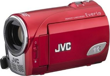 GZ-MS100R Everio SD/SDHC Card Camcorder Red Refurb