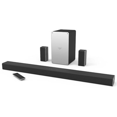 SB3651-E6 36` 5.1 VIZIO SmartCast Sound Bar System, Black