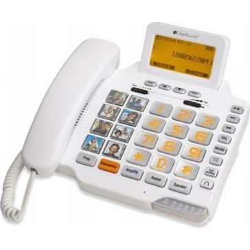 Amplified FreedomTalk Amplified Phone - CSC1000 - REFURBISHED**