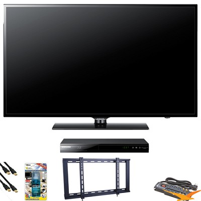 UN46EH6000 46 inch 120hz LED HDTV Blu Ray Bundle
