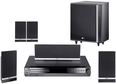 LHT734 - DVD Home Theater System w/ DVD 1080i upconversion, iPod Control