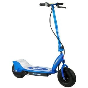 E300 Electric Scooter - Blue - 13113640 - OPEN BOX