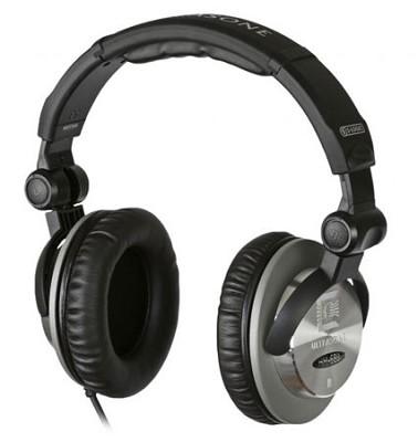 HFI-680 S-Logic Surround Sound Professional Headphones - Black/Silver