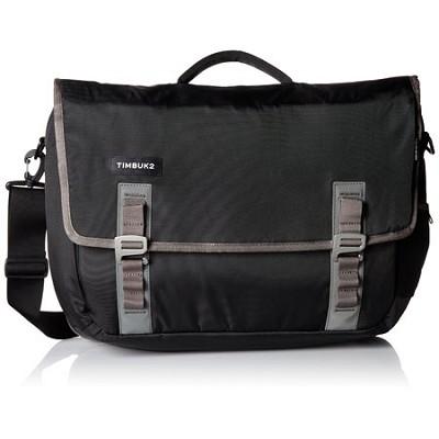 Command Laptop Messenger Bag, Large (Black/Gunmetal)