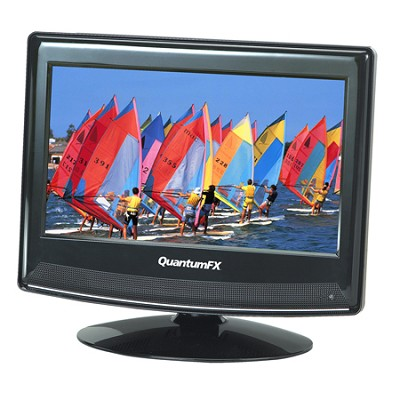 QuantumFX LED-1311 13.3 inch TFT LCD TV with ATSC/NTSC TV Tuner