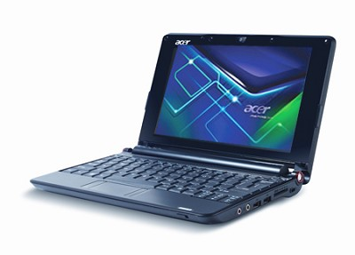 Aspire one  8.9-inch Netbook PC - Black (AOA150-1553)