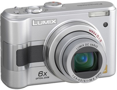 DMC-LZ3S (Silver) Lumix 5-Megapixel Digital Camera - REFURBISHED