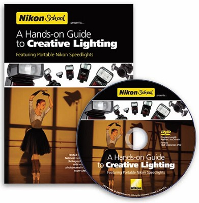 A Hands-on Guide to Creative Lighting DVD Featuring the SB-900, SB-600