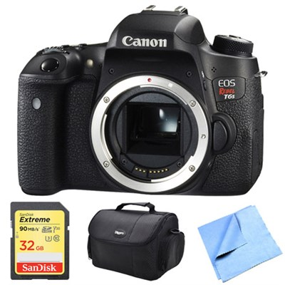 EOS Rebel T6s Digital SLR Camera Body 32 GB Bundle