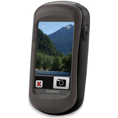 Oregon 550, World Wide, Rugged 3` touchscreen with built-in 3.2 megapixel camera