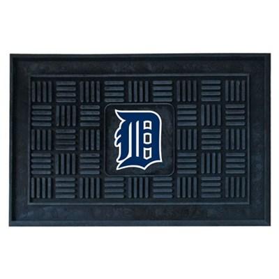 MLB Detroit Tigers Vinyl Heavy Duty Door Mat