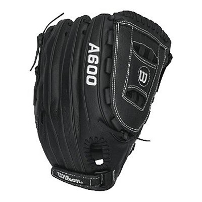 A600 All Position 12.5` Black/Grey Baseball Glove - Right Hand Throw