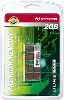 2GB JetRam DDR2 667 SO-DIMM for Laptops