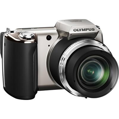 SP-620UZ 16 MP 3-inch LCD Silver Digital Camera