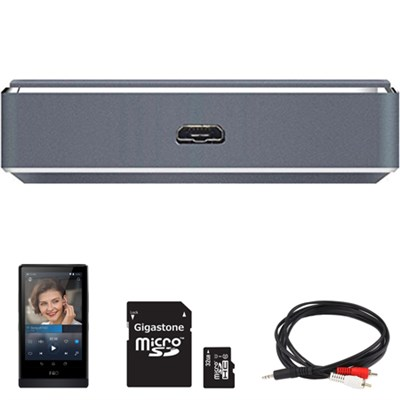 Non-Amplified Module (For Charging Only) X7-AM0 w/ FiiO X7 Music Player Bundle