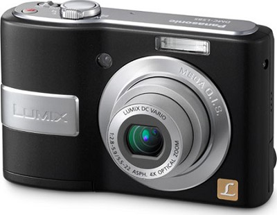 DMC-LS85K LUMIX 8.1 MP Compact Digital Camera w/ 4x Optical Zoom (Black)