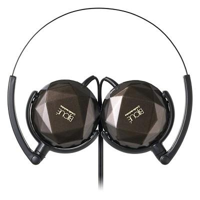 ATH-FW33  BIJOUE FashionFidelity On-ear Headphones (Brown)