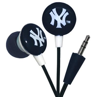 Major League Baseball Officially Licensed Earphones - New York Yankees