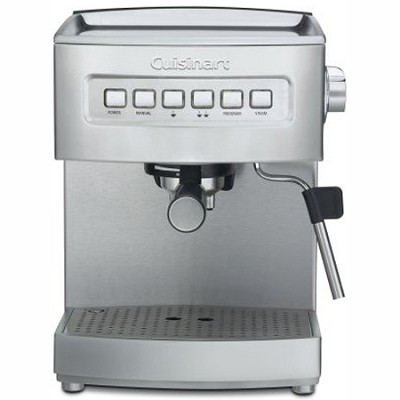 EM-200 Programmable 15-Bar Espresso Maker, Stainless Steel (Factory Refurbished)