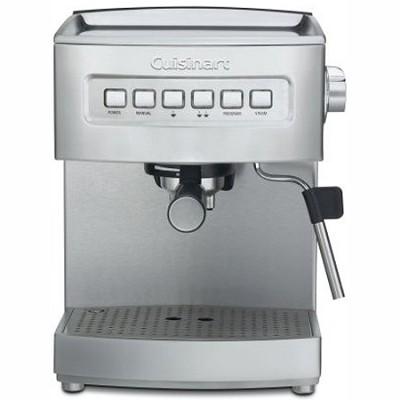 EM-200 Programmable 15-Bar Espresso Maker, Stainless Steel (Factory Refurbished)