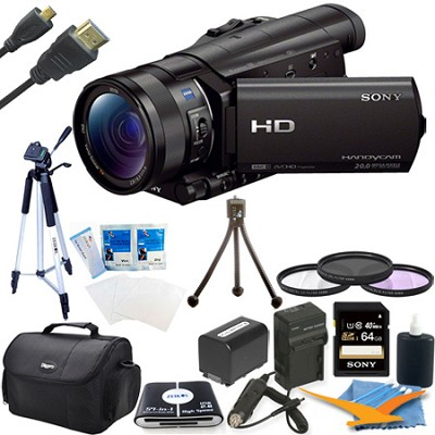 HDR-CX900/B HD Camcorder Kit