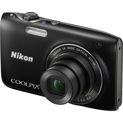 COOLPIX S3100 14MP 5x Zoom Black Compact Digital Camera