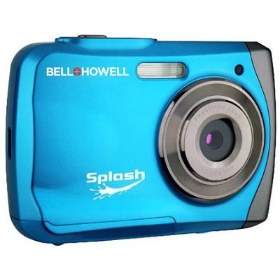 Splash WP7 12MP Waterproof Camera, Anti-Shake,  (Blue) - OPEN BOX