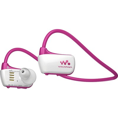 NWZW273S 4 GB Wearable Sports MP3 Player - Pink