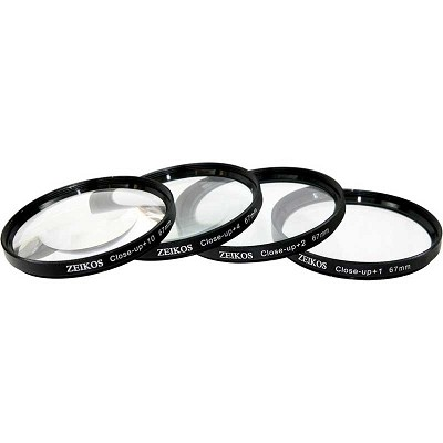 67mm 4-piece Close-up lens set - Zoom in on the Details!