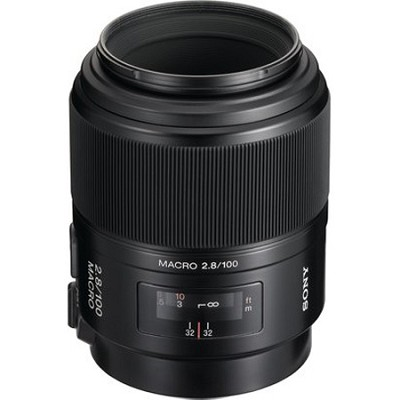 SAL100M28 - 100mm f/2.8 Macro A-Mount Lens