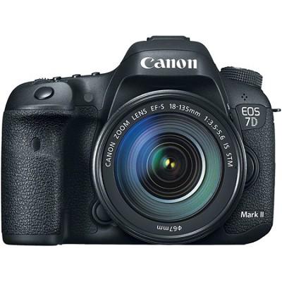 EOS 7D Mark II Digital SLR Camera with 18-135mm IS STM Lens