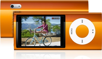 iPod Nano 5th Generation 8GB MP3 Player - Orange REFURBISHED