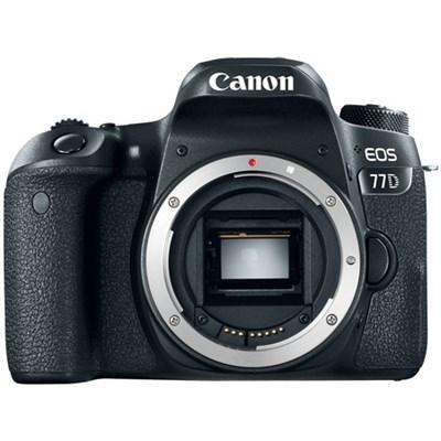 EOS 77D 24.2 MP CMOS (APS-C) Digital SLR Camera with Wi-Fi & Bluetooth (Body)