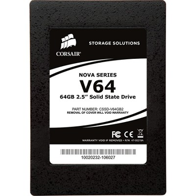 Nova Series V64 64GB 2.5` Solid-State Hard Drive