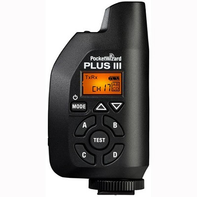 801-130 - PW-Plus3-FCC PocketWizard Plus III