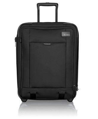 T-Tech Continental Expandable Carry-On (Black)