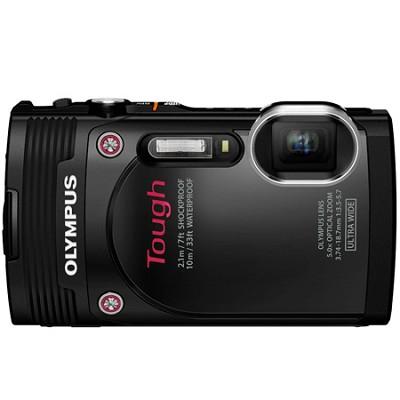 TG-850 16MP Waterproof Shockproof Freezeproof Digital Camera - Black