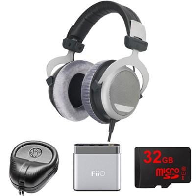 DT 880 Premium Headphones 32 OHM - 483931 w/ FiiO Amp. Bundle