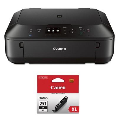 PIXMA MG5620 Color Wireless Photo All-in-One Inkjet Black Printer XL Ink Bundle
